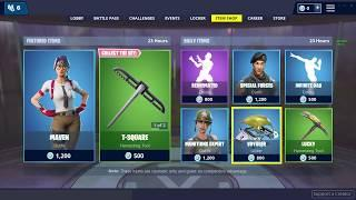 So the nerd skin female came out in the item shop...
