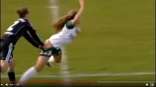 Female Soccer Player Loses Her Shorts