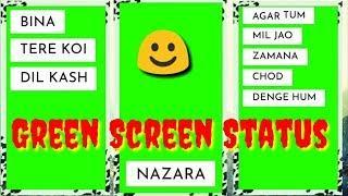 Agar Tum Mil Jao (Female) Full Green Screen Status || WhatsApp Status Video No Copyright