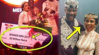 BBNaija:  Mercy Makes History, Becomes First Female Big Brother Winner  - (  VIDEO )