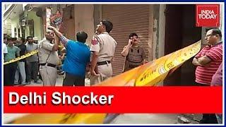 Delhi Shocker : 11 Members Of A Family Found Dead Inside House