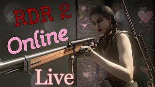 Red Dead Redemption 2 Online Female Outlaw Hunting Fishing And PVP