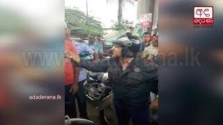Woman lashes out at cops after caught riding motorcycle without license