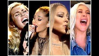 Live Vocals Unexpected By Female Singers