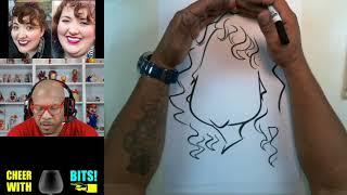 How To Draw Caricatures | Female Round Faces 2