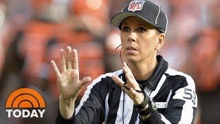 Sarah Thomas To Be 1st Woman To Officiate NFL Playoff Game | TODAY