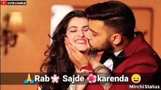 Rab Sajde Karenda New Female Version Punjabi Love WhatsApp Status Video 2019