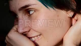 Female Portrait Stock Video