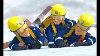 New Fireman Sam ????A Snowy New Years Rescue! ???? ❄️Winter Special ????????Children's Cartoons