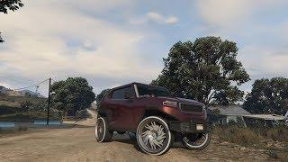 ** NON 3D FREECRAWLER ON BENNYS WITH YANKTONS - HAPPY HOLIDAYS!! PS4 GC2F - GTA 5 ONLINE **