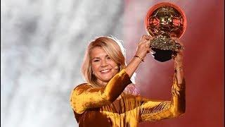 Ada Hegerberg wins the first women's Ballon d'Or