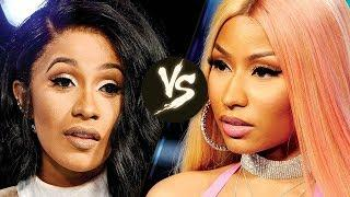 Nicki Minaj vs Cardi B - Fight Breaks Out
