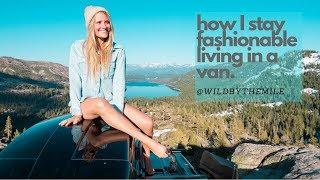 SOLO FEMALE TRAVEL | HOW I CONDENSED MY CLOSET TO A VAN