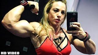 Israeli Beast Muscle Girl | Dana Shemesh Miss Fitness Israel