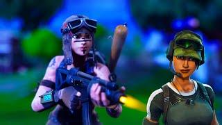 I called Out a Female Renegade Raider To A 1v1 | Fortnite Battle Royale |