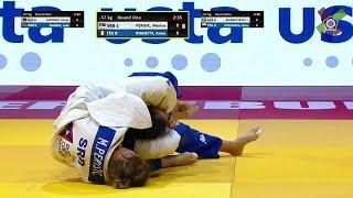 female judo choke out 86