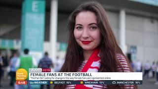 Female Fans at the Football | Good Morning Britain