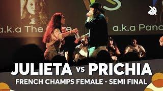 JULIETA vs PRICHIA | French Female Beatbox Championship 2018 | Semi Final
