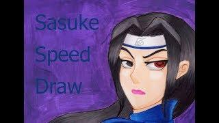 Female Sasuke Speed Draw