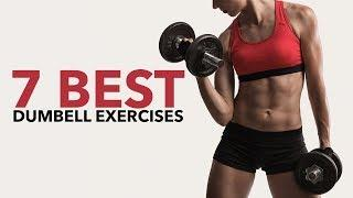 7 Best Dumbbell Exercises for Women (FULL BODY WORKOUT)