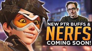 Overwatch: NEW Buffs & Nerfs Coming! - FAKE Female Pro Update