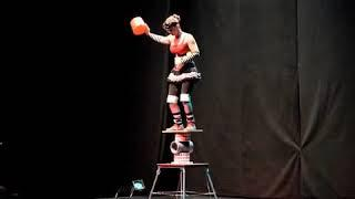 7-8min TOP solo circus female short STAGE Show from USA! [360p]
