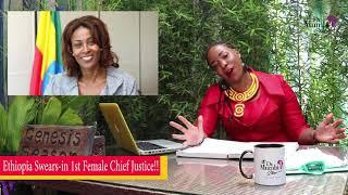 WOW! Ethiopia Gets 1st Female Chief Justice!????