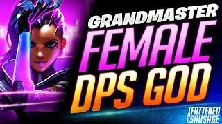 Top 500 Female DPS God ANNIHILATES On Sombra! | Overwatch