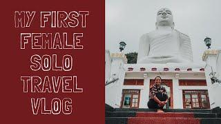 MY FIRST FEMALE SOLO TRAVEL TRIP to Kandy | Sri Lanka Travel Series | Ep.1 | illustrated by Sade