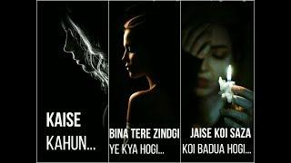 Kaise Kahun Bina Tere | Female | Sad | WhatsApp Status Video | 30 Sec | Lyrics