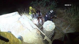 Orange: Couple Rescued After Falling Into Ravine