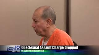 One felony case dismissed against local doctor accused of sexually assaulting female patients