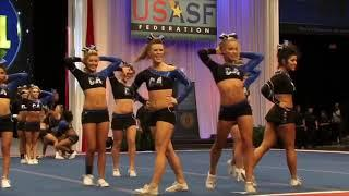 Top 10 Female Tumblers in Allstar Cheerleading