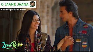 O Jaane Jaana (Female) Whatsapp Status Video | Loveratri | Aasim Musicdoor