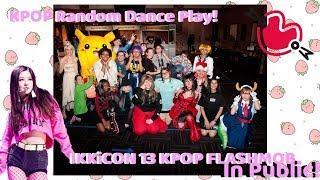 KPOP Random Dance Play! | KPOP in Public Flashmob | IKKiCON XIII