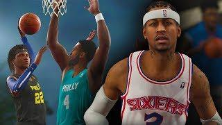 NBA Live 19 The One Career | JUWANNA MANN EXPOSED ALLEN IVERSON IN PHILLY! Road To ICON #3