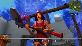 TRIPLE THREAT FEMALE BASKETBALL FORTNITE SKIN FIRST LOOK!