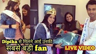 Dipika kakar meet her biggest female fan | #dipstars
