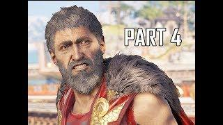ASSASSIN'S CREED ODYSSEY Walkthrough Part 4 - Wolf of Sparta (Let's Play Commentary)
