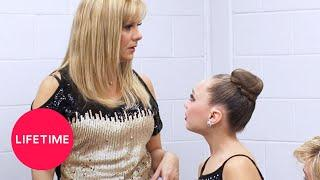 Dance Moms: Abby Takes Her Frustrations Out on Melissa (Season 3 Flashback) | Lifetime