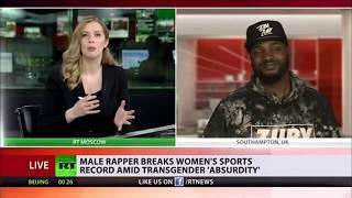Rapper Zuby Identifies as Female to Break Women's Weightlifting Record... to Prove a Point