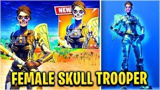 *FREE*  SKULL TROOPER & SCYTHE (Female) (Out NOW!) | Pro 13 Year Old ( Fortnite Battle Royale )