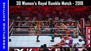 Royal Rumble 2019: 30 Women's Royal Rumble Match, January 27, 2019 - Highlights