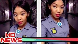 Beautiful female police officer breaks the internet with her video