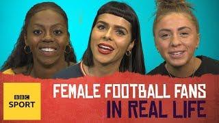 In Real Life: What female football fans are bored of hearing - BBC Sport