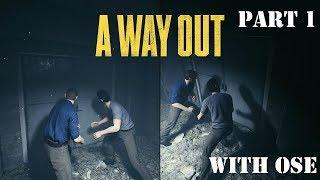 A Way Out Walkthrough:Part 1 Finishing...Subscribe |Female Gamer| + Sub Goal 560: 557/560