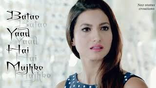 Zaruri tha female version for whatsapp status video //sad????status video for girls //created by Naz