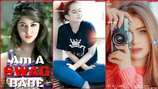 Swag Babe Female Attitude ???? Full Screen WhatsApp Status Video ???? Female Version Status ????