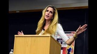 "Ann Coulter Debunks Conservative-hating Social media ""I Wish Facebook Collapse"""