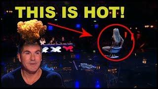 "Top 10 ""MOST HOT WOMAN"" On Got Talent in The World!"